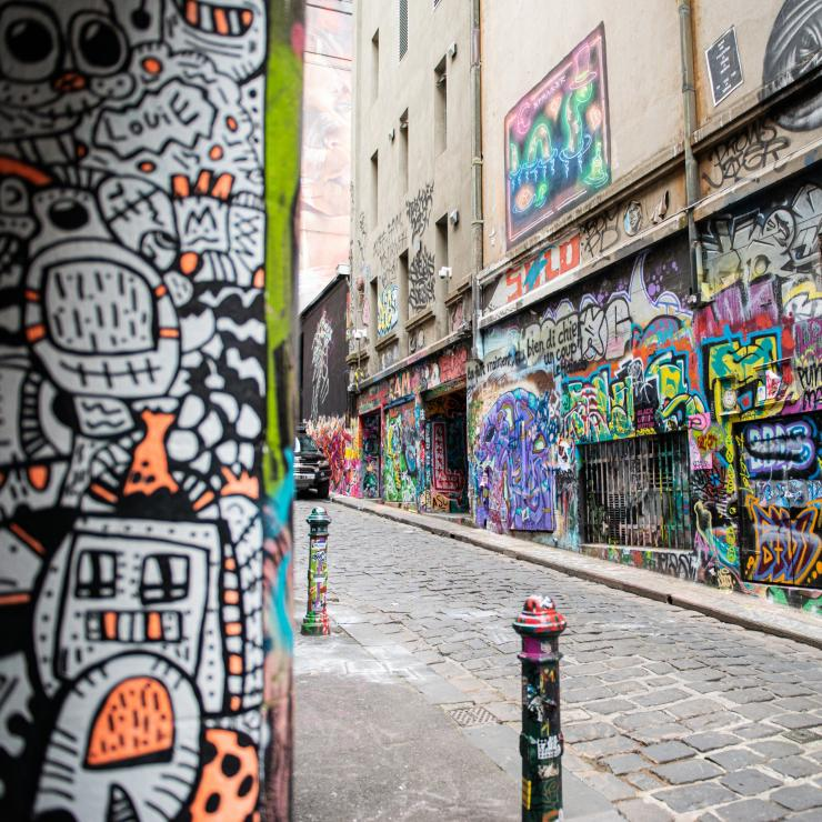 Hosier Lane, VIC © Visit Victoria