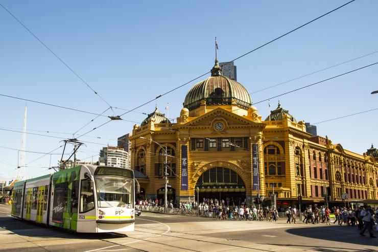 Flinders Street Station, Melbourne, VIC © Josie Withers Photography