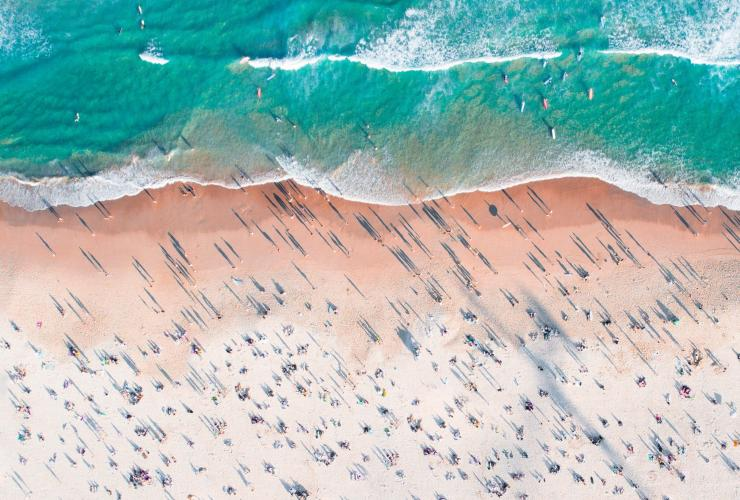 Aerial of Bondi Beach in Sydney © Adam Krowitz
