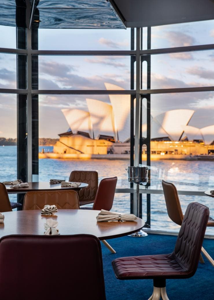 View of the Sydney Opera House from Quay restaurant © Nikki To