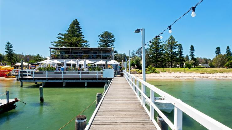 The Boathouse, Palm Beach, NSW © Lawrence Furzey, Destination NSW