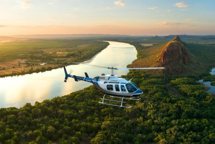 HeliSpirit, heli-fishing adventures, the Kimberley, WA © HeliSpirit
