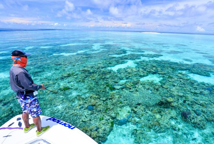 Nomad Sportfishing Adventures, Great Barrier Reef, QLD © Nomad Sportfishing Adventures