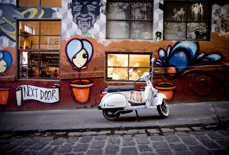 Movida Next Door, Hosier Lane, Melbourne, VIC © Visit Victoria