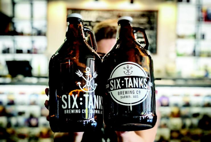 Six Tanks Brewery, Darwin, NT © Glen Campbell