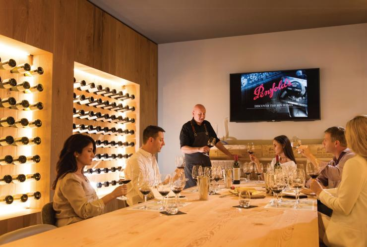 Wine Tasting at Penfolds Magill Estate, Magill, SA © South Australian Tourism Commission
