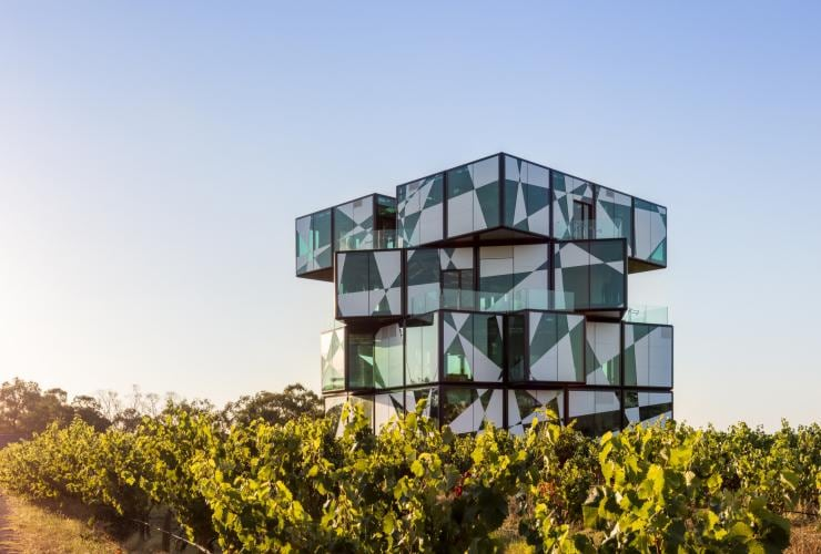 d'Arenberg Winery, McLaren Vale, SA © Greg Snell, Tourism Australia