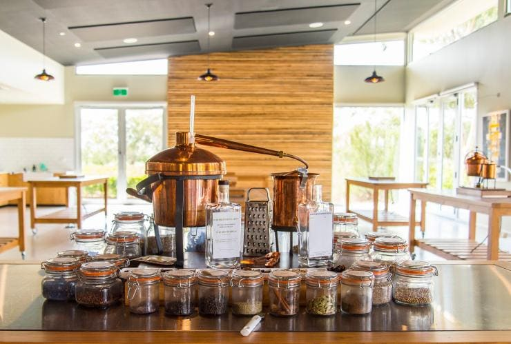 Gin making workshop at Durand Distillery in the Barossa Valley © Durand Distillery/John Kruger Photography