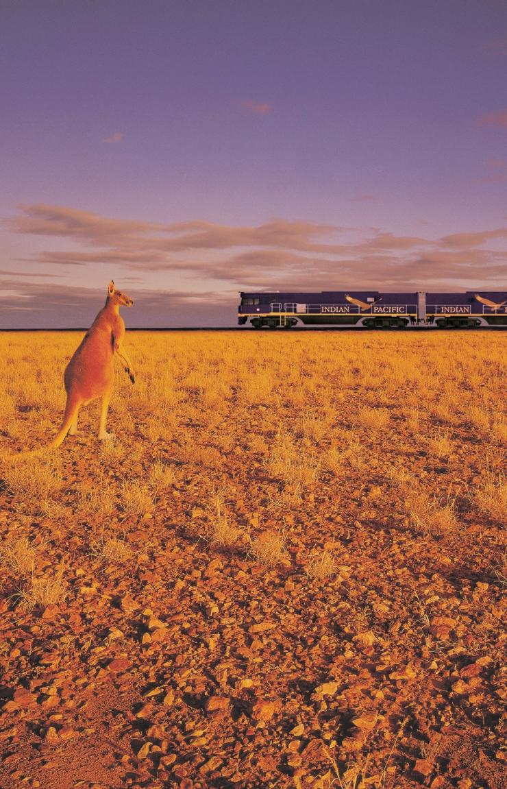 The Indian Pacific, Kalgoorlie, WA. © Tourism Western Australia