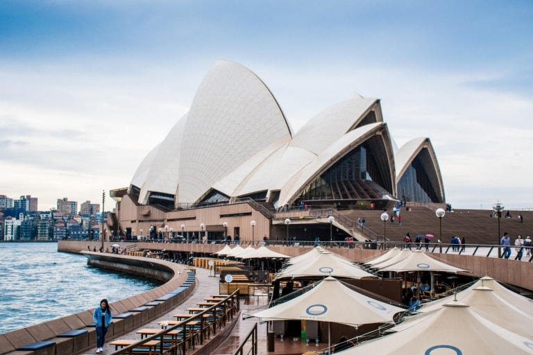 View of the Sydney Opera House in New South Wales © Susan Kuriakose/Unsplash