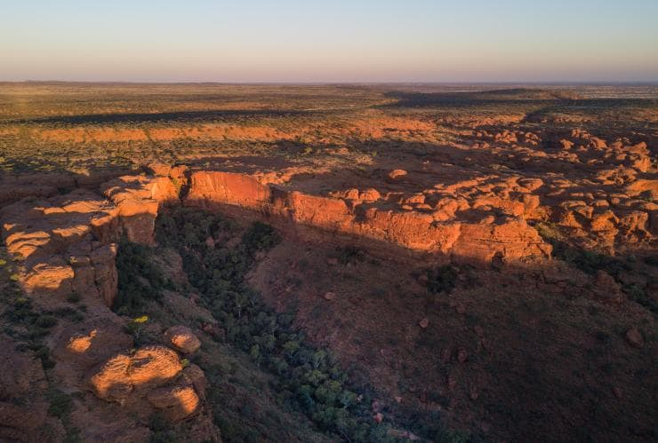 Watarrka from above © Tourism NT/Matt Glastonbury