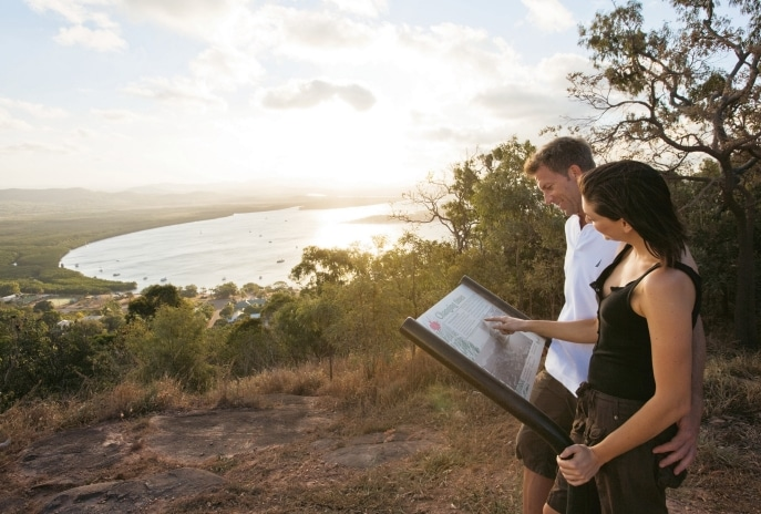Grassy Hill Lookout, Cooktown, QLD. © Tourism and Events Queensland
