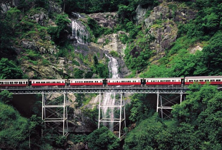 Kuranda Scenic Railway, Cairns, QLD. © Tourism and Events Queensland