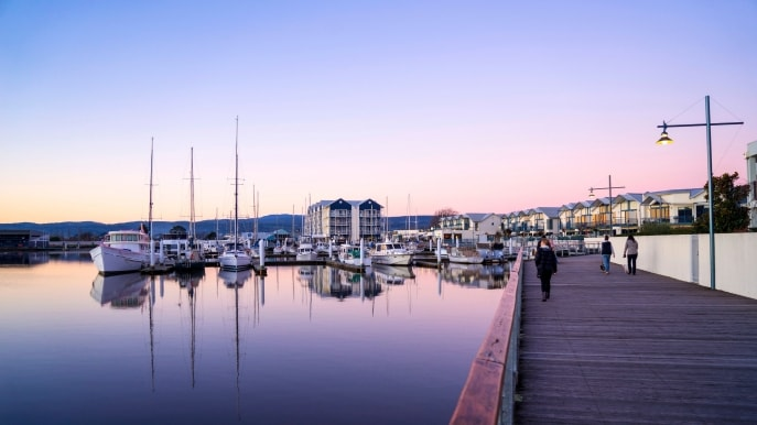 Launceston Seaport Boardwalk, Launceston, TAS © Rob Burnett Images