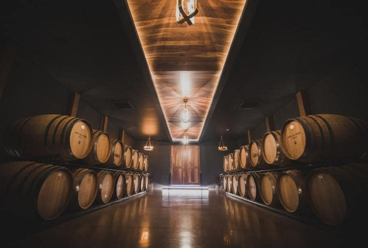 Wine barrels at Amelia Park Winery © Australia's South West