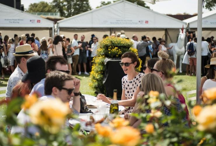 Melbourne Food and Wine Festival Grazing Trail and Cellar Door, Melbourne, VIC © Melbourne Food and Wine Festival