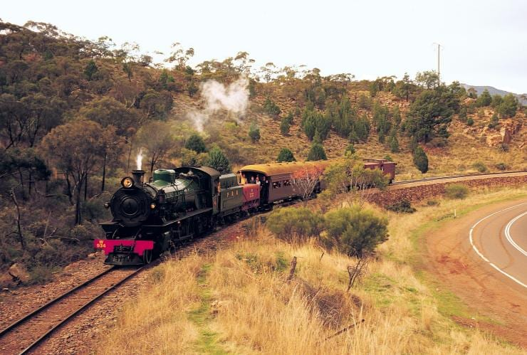 Pichi Richi Railway, SA © South Australian Tourism Commission, Peter Fisher