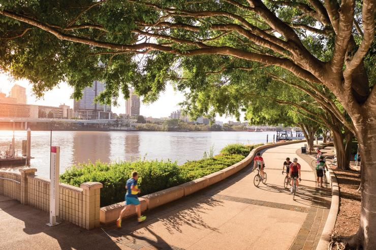Brisbane, QLD © Tourism and Events Queensland