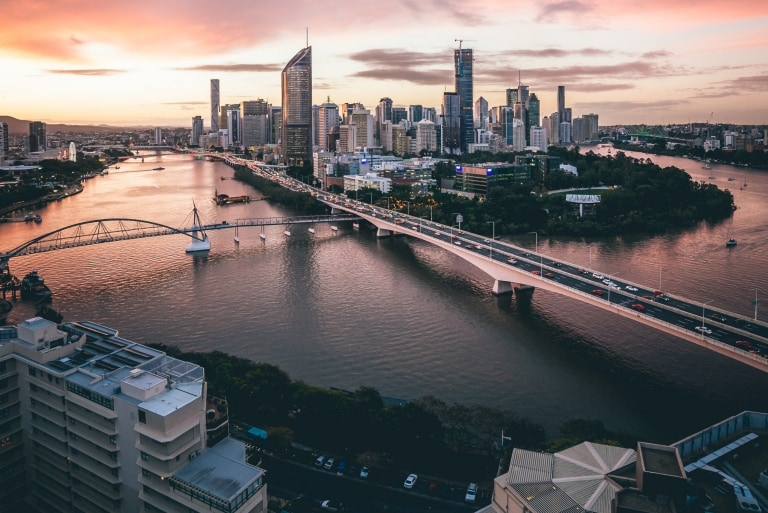 Brisbane River, Brisbane, QLD © Brisbane Marketing