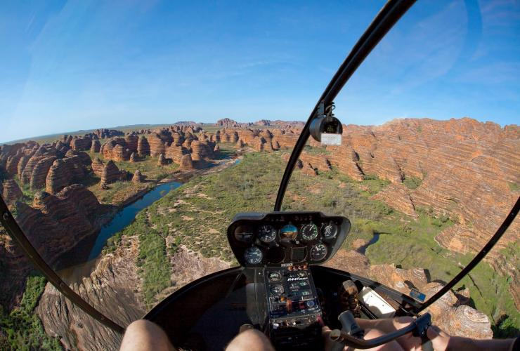 Scenic flight, Heli Spirit, Bungle Bungles, WA © Ben Knapinski