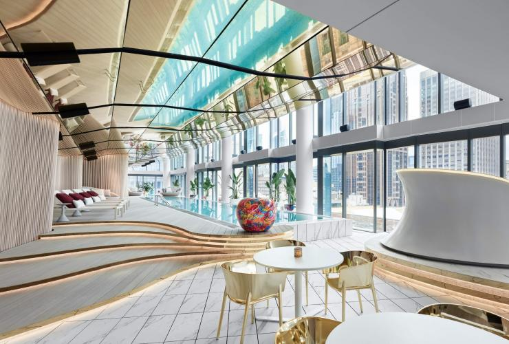 Interior shot of the W Melbourne in Victoria © W Hotels