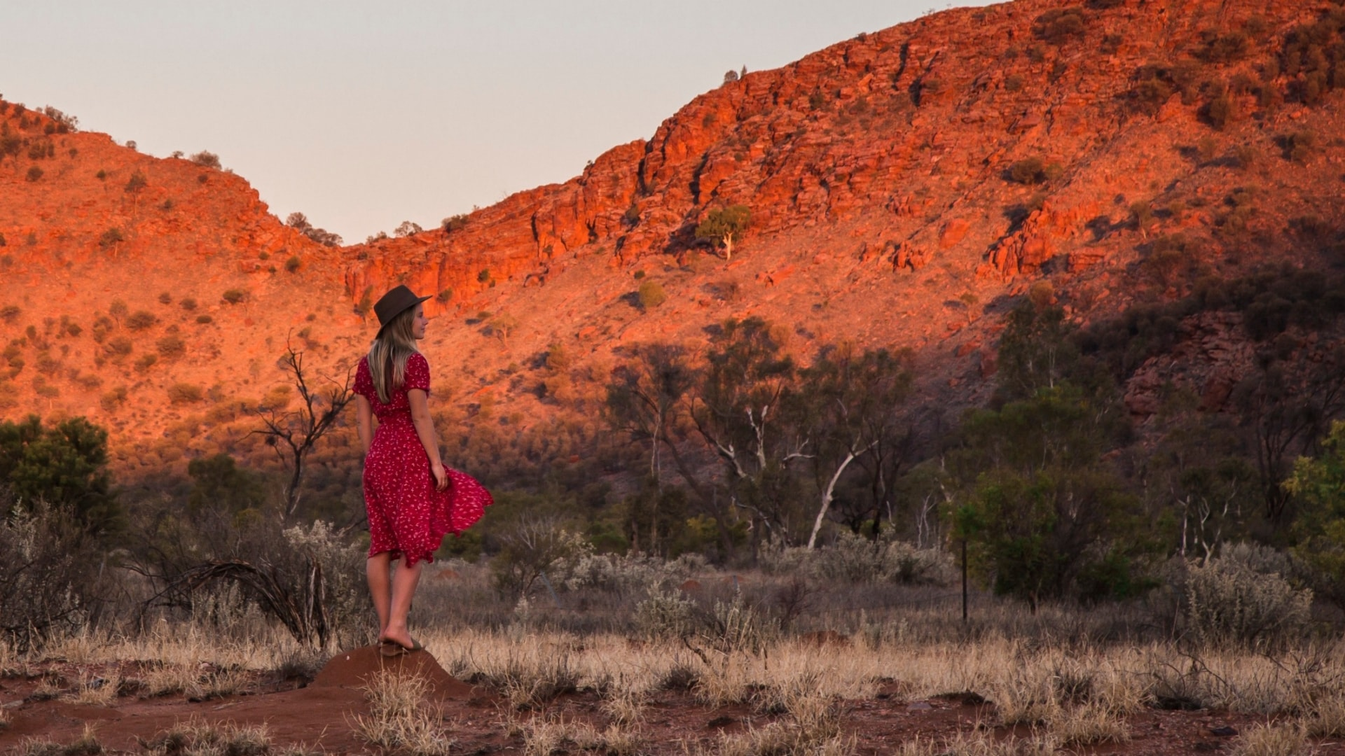 West MacDonnell Ranges, NT © Tourism Australia