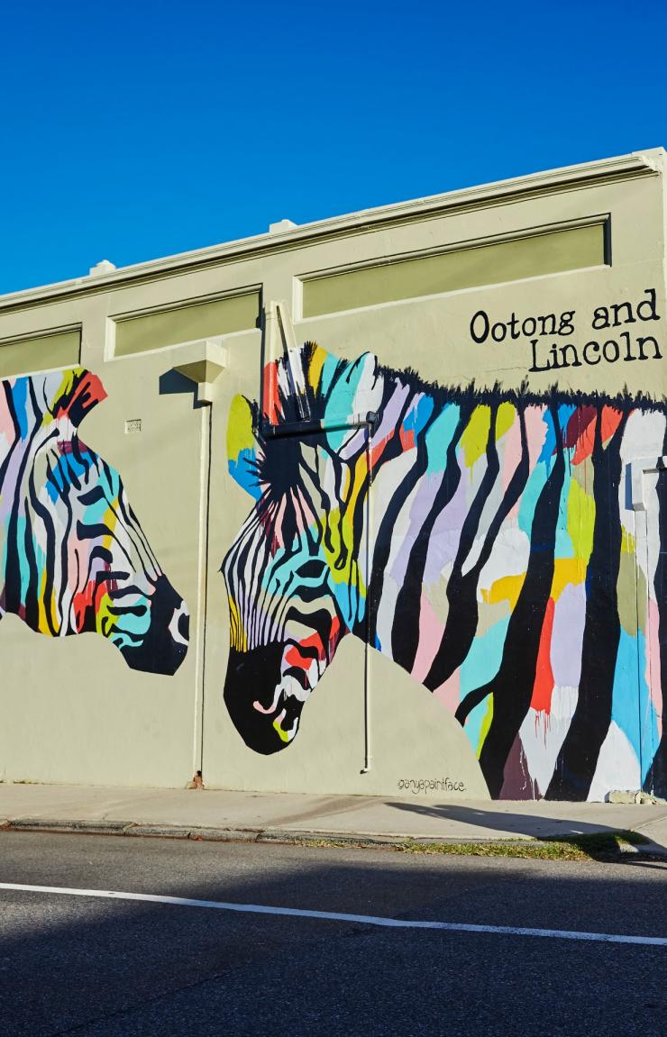 Urban art in Fremantle, Perth © Tourism Western Australia