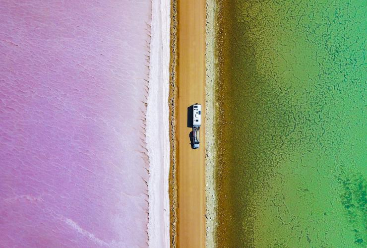 Lake MacDonnell, Eyre Peninsula, SA © The Blonde Nomads - Tracy and Rob Morris