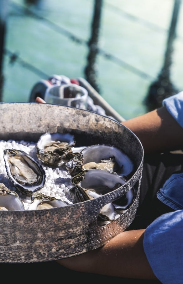 Coffin Bay Oysters, Coffin Bay, SA © South Australian Tourism Commission