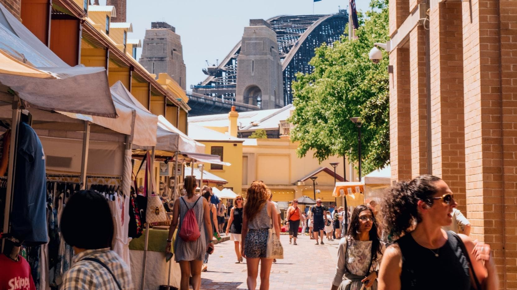 The Rocks Markets, The Rocks, Sydney, NSW © Destination NSW