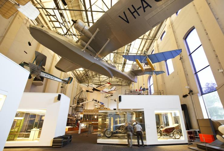 Aircraft display at Powerhouse Museum, Sydney, New South Wales © James Horan, Destination NSW