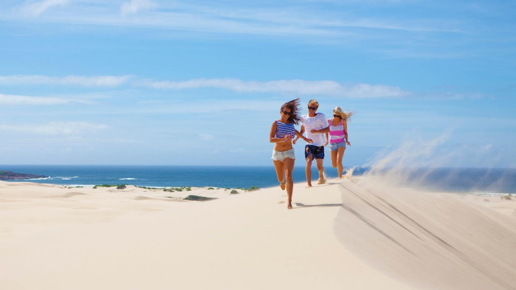 Stockton Bight Sand Dunes, Port Stephens, NSW. © Tourism Australia