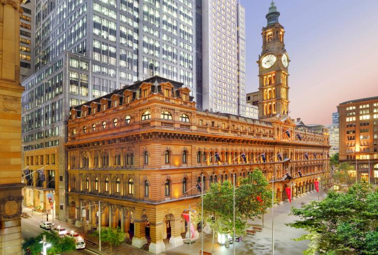 Exterior of the Fullerton Hotel, Sydney, NSW, New South Wales © Fullerton Sydney