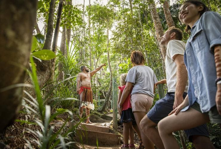 Rainforestation Nature Park, Pamagirri Aboriginal Experience, Kuranda, QLD © Rainforestation Nature Park
