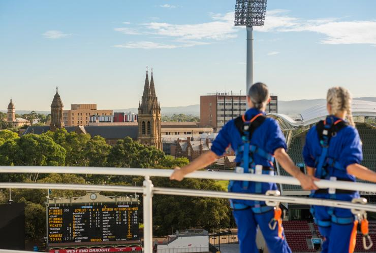 Heights of Adelaide RoofClimb Experience, Adelaide Oval, Adelaide, SA © Che Chorley
