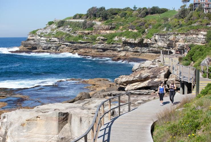 Bondi coastal walk, Sydney, NSW © James Horan, Destination New South Wales