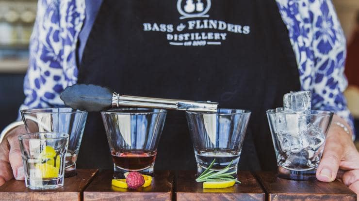 Bass & Flinders Distillery, Mornington Peninsula, VIC © Bass & Flinders Distillery