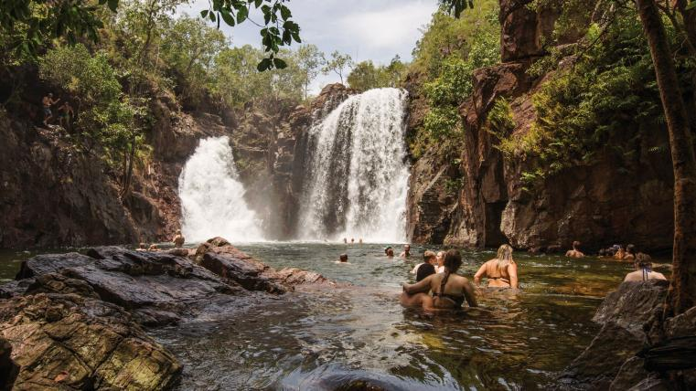 Florence Falls, Litchfield National Park, Northern Territory © Tourism Australia