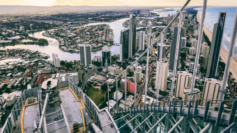 SkyPoint Climb, Gold Coast, Queensland © Matt Glastonbury / Tourism & Events Queensland