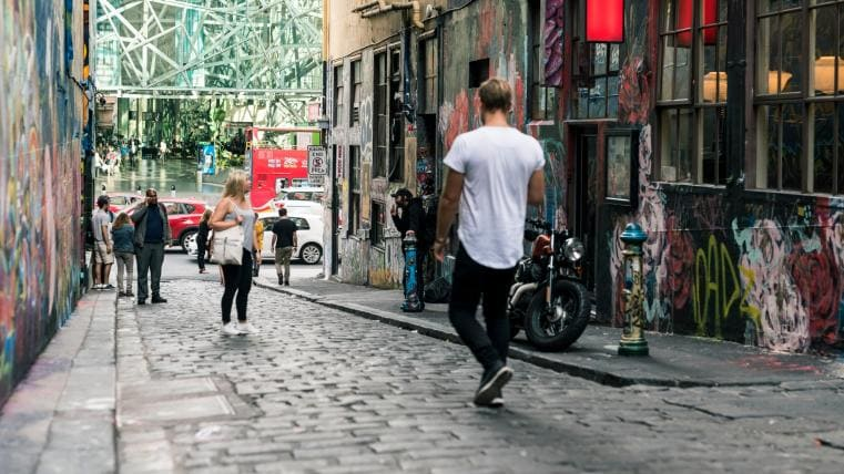 Hosier Lane, Melbourne, VIC © Robert Blackburn / Visit Victoria