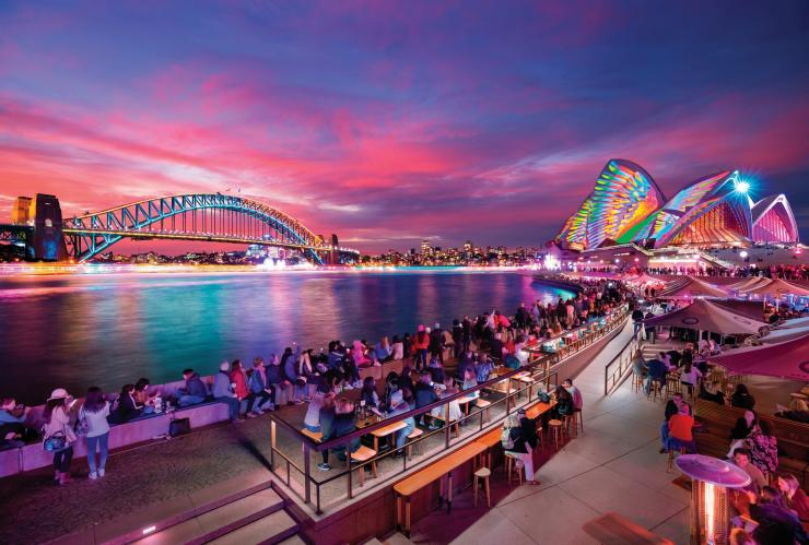 Vivid Sydney, Sydney, NSW © Destination NSW
