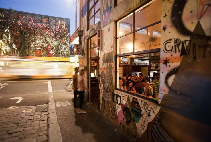 Movida Next Door, Hozier Lane, Melbourne, VIC © Visit Victoria