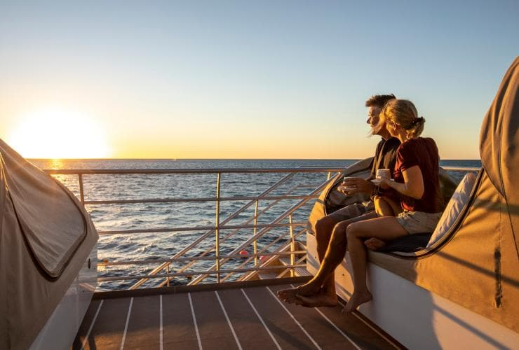 Reefsleep Experience, Great Barrier Reef, QLD © Tourism and Events Queensland