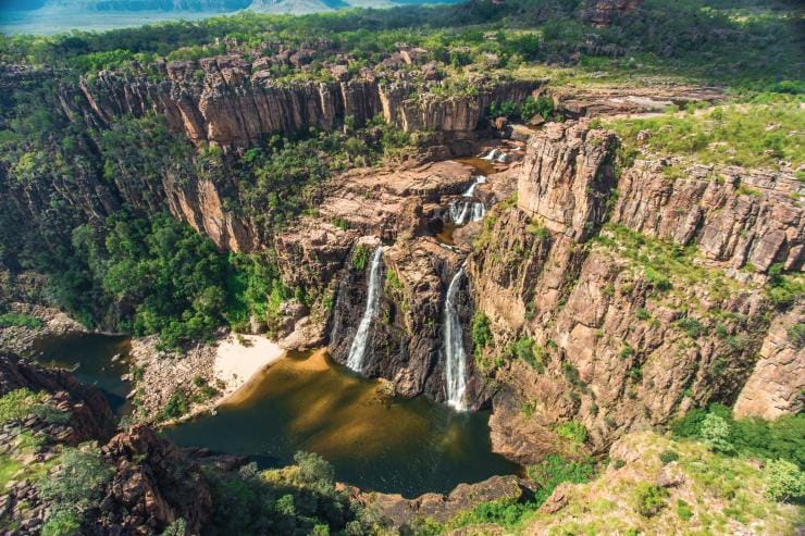 Twin Falls, Kakadu National Park, Top End, NT © Tourism Northern Territory