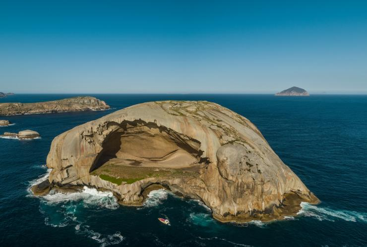 Skull Rock in Wilsons Promontory, Victoria © Pennicott Wilderness Journeys