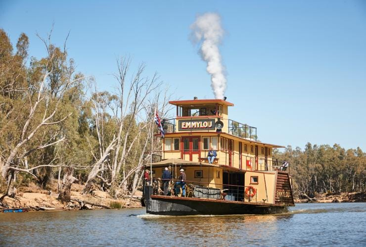 Murray River Paddlesteamers, Echuca, VIC © Murray River Paddlesteamers