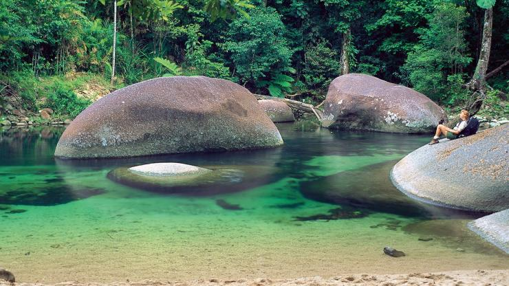 Mossman Gorge, Daintree Rainforest, QLD © Tourism and Events Queensland