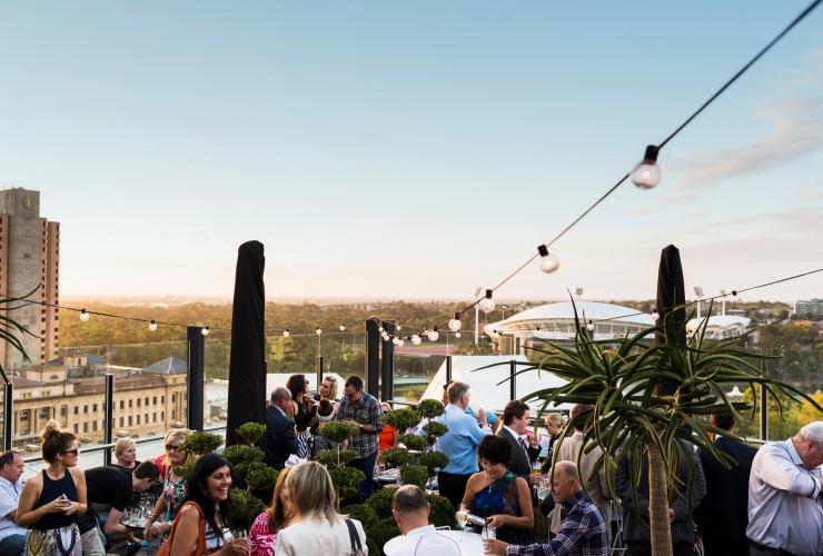 2KW Bar and Restaurant, Adelaide, SA © South Australian Tourism Commission