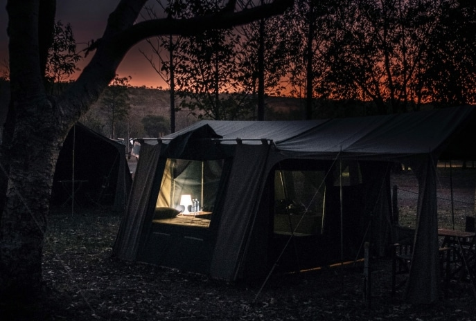 Camping at El Questro Station, WA © Tourism Western Australia