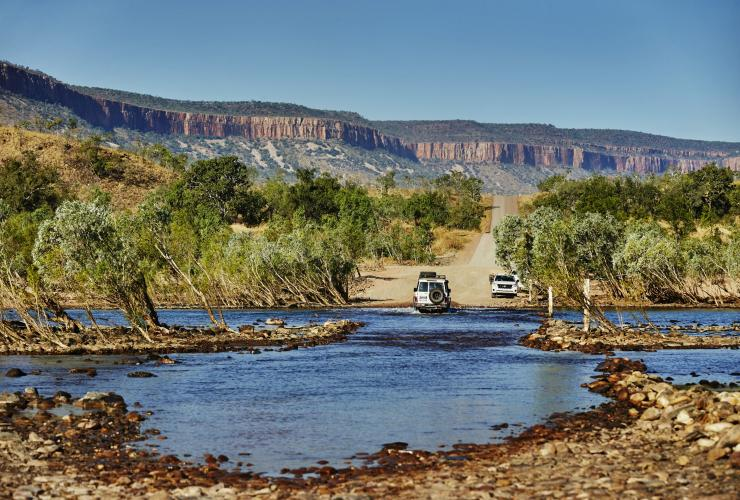 Pentecost River Crossing, Gibb River Road, WA © Tourism Western Australia
